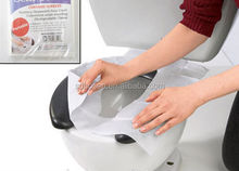 OEM Sanitary tissue paper toilet seat covers for travelling
