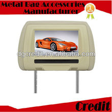 "2012 NEW Design auto lecteur 9"" high definition TFT LCD Car video Headrest monitor for premium cars"