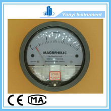 4 inch differential pressure gauge bourdon tube