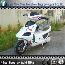 50CC White Color Mini Scooter with Cheap Price