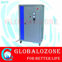 Large industrial ozone generator for food manufacturing