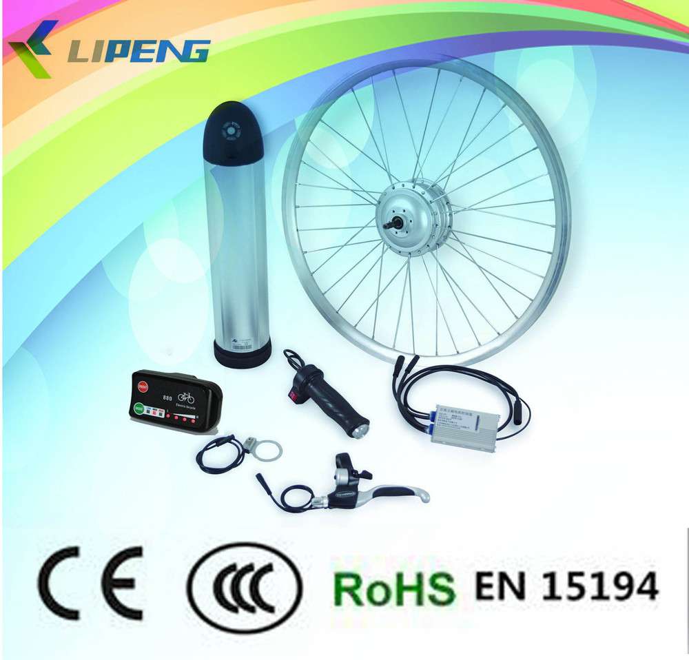 Economical !36V 350W rear wheel hub brushless motor engine /BLDC Electric bike conversion kits