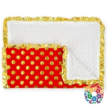 Hot!!New High Quality Newborn Red Baby Girl/Boy Crib Cot Cotton Blanket Quilt Comforter Handmade Baby Quilt & Blankets Wholesale