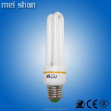CFL 15W 2u 9mm diameter tube good quality energy saving bulbs made in china