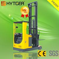 2 Ton Narrow Aisle Reach Fork Lifter 8000 MM High Mast Factory Price