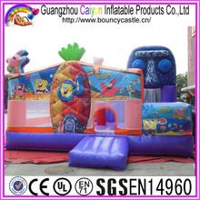 Top Quality Inflatable Spongebob Moonwalk With Big Discount
