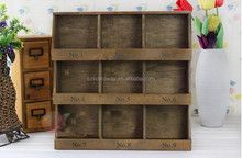 Animal Painted Wooden Small square Gift Jewelry Boxes