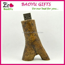 Wholesale High Sales 8GB USB Flash Branch Model USB 2.0 Flash Memory Stick Flash PenDrive Festival Gifts/Drive/Pen