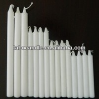 everyday household white candles
