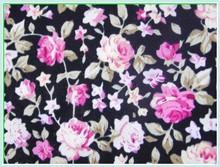 digital printing cotton poplin flower printed fabric