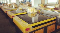 glass uv printer , glass uv flatbed printing machince Automati Digital Printer new condition and multicolor uv flatbed printer