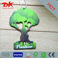 Tree Leaves Paper Card Car Air Freshener,Perfume Card for Car