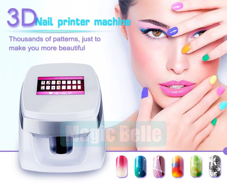 Diy Nail Art Printernew Nail Printer3d Nail Painting Machine For