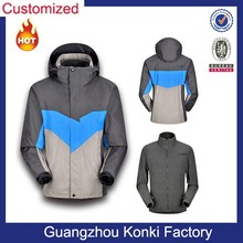 Top quality wholesale windproof jacket for hiking/skiiing