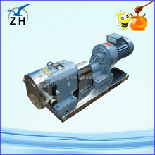 concrete mixing pump variable speed rotary lobe pump for liquid fillings
