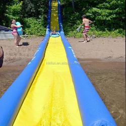 2015 gaint inflatable slip n slide for adult sports games