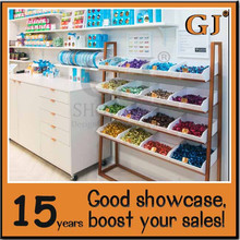 Custom made sweets cabinets sweet shop decoration chocolate showcase