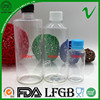 cylinder clear plastic soda bottles disposable with lid biodegradable