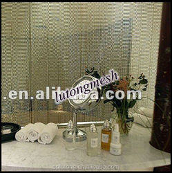 Cheap price decorative metal door beads curtain for free samples