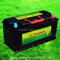 Yuasan Top Calcium Sealed Lead Acid Maintenance Free Auto Battery--60038-MF(12V100AH)