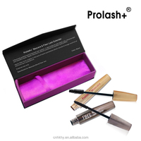 2015 fashion Prolash+ 3D fiber lash and mascara set chemical formula mascara