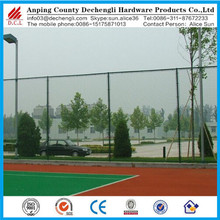 playground isolation fence/PVC coated green chain link fence