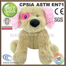 Leading custom stuffed plush dog toys for Valentine Days