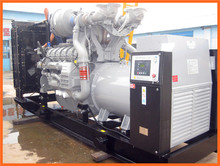 64KW/80KVA water cooled diesel generator powered by Perkins engine 1104A-44TG2