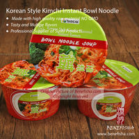 Korean Spicy Kimchi Flavored 90g Instant Bowl Ramen Noodle