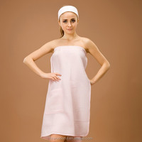 sexy girls with animal sex waffle tube top and waffle weave robes design for summer style