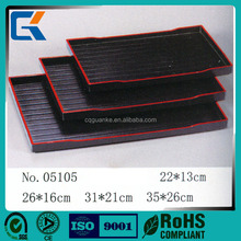 Wholesale durable health plastic airline serving tray