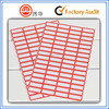 top sale cheap blank price or product name sticker paper