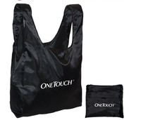 Widely used nylon foldable tote bag