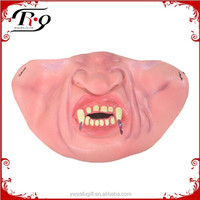 halloween party props vampire funny half face mask