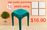 New arrival stackable plastic stool rotomolded colorful high quality plastic stool