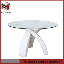 round dining table wooden bases for glass tops
