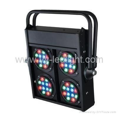 Led 48X1watt blanco LED Blinder luz