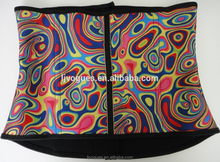 Factory New type Colorful type sport waist training