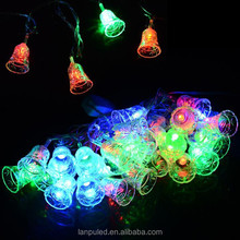 2014 Christmas colors changeable hight quality Led small bell light hot sale