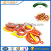 heat resistance custom molded SILICONE SEALS rubber o ring