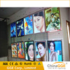 light led panel advertising signboards with silver aluminum frame