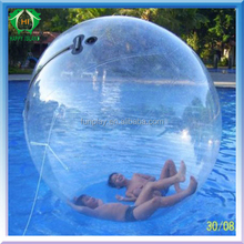 2016 Whosesale price high quality inflatable rolling ball,large inflatable ball