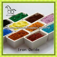 óxido de hierro negro, rojo, amarillo, marrón