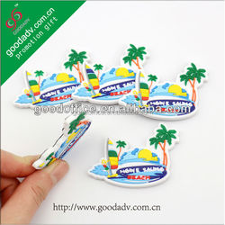 Guangzhou factory Eco-friendly newest lovely soft pvc wholesale blank fridge magnets