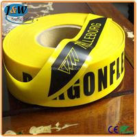 High Visibility Reflective Safety Tape / Caution Tape / Warning Tape