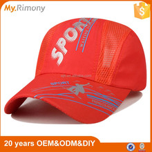 Fashion sports hat classical wholesale promotional custom baseball sports cap