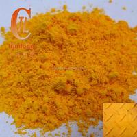 Lead chromate yellow, medium chrome yellow, inorganic pigment yellow 34, C.I. 77603