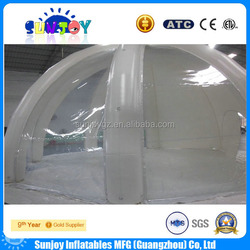 New design camping inflatable clear tent,inflatable marquee