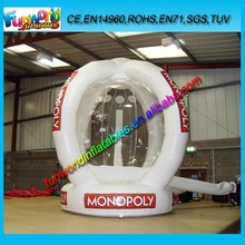2015 Commercial Inflatable Cash Booth , Cube Inflatabe Money Machine For Sale (FUNPM1-083)