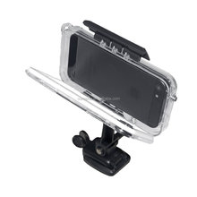 Hot smartphone waterproof hybrid case for iphone5 at helmet surfing and cycling